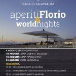 """EVENTI: Il 10 Agosto """"Calici di Stelle"""" alle Cantine Florio"""