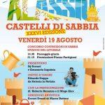 """EVENTI: """"Castelli di Sabbia"""" in sfida ad Alassio"""