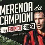 """SPORT: """"MERENDA DA CAMPIONI"""" con Franco Baresi all'F.C. Aurora Travagliato"""