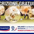 """EVENTI: Torneo """"Hansaplast Bubble Football Cup"""" a Milano"""