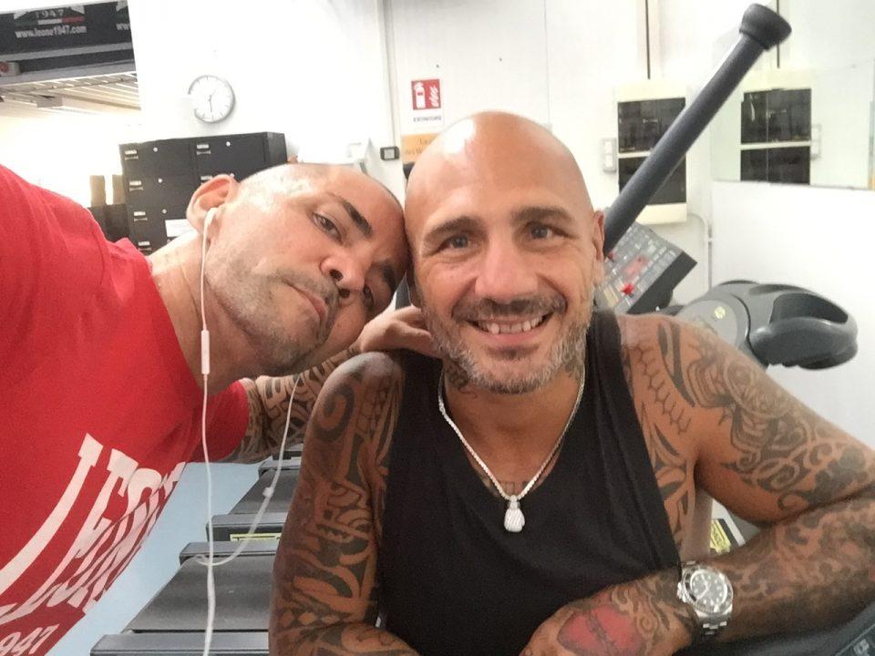 Angelo Valente e Giacobbe Fragomeni