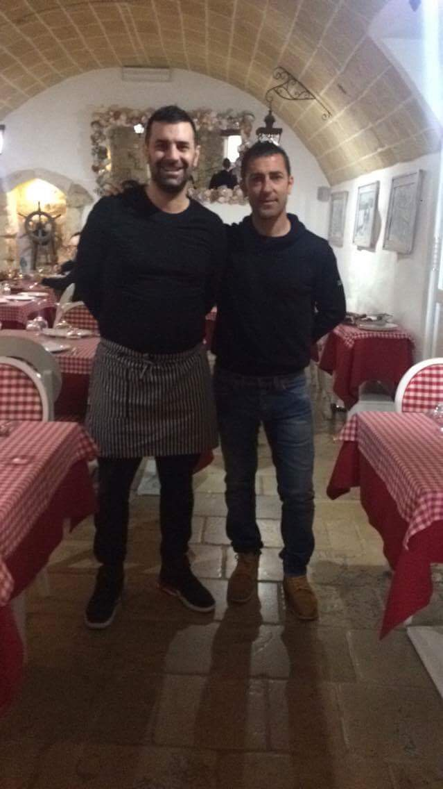Amici da una vita, lo chef Mino Pepe ed il direttore Luigi Ghiaccio