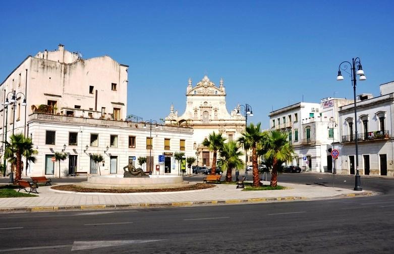 Galatina - Piazza Alighieri