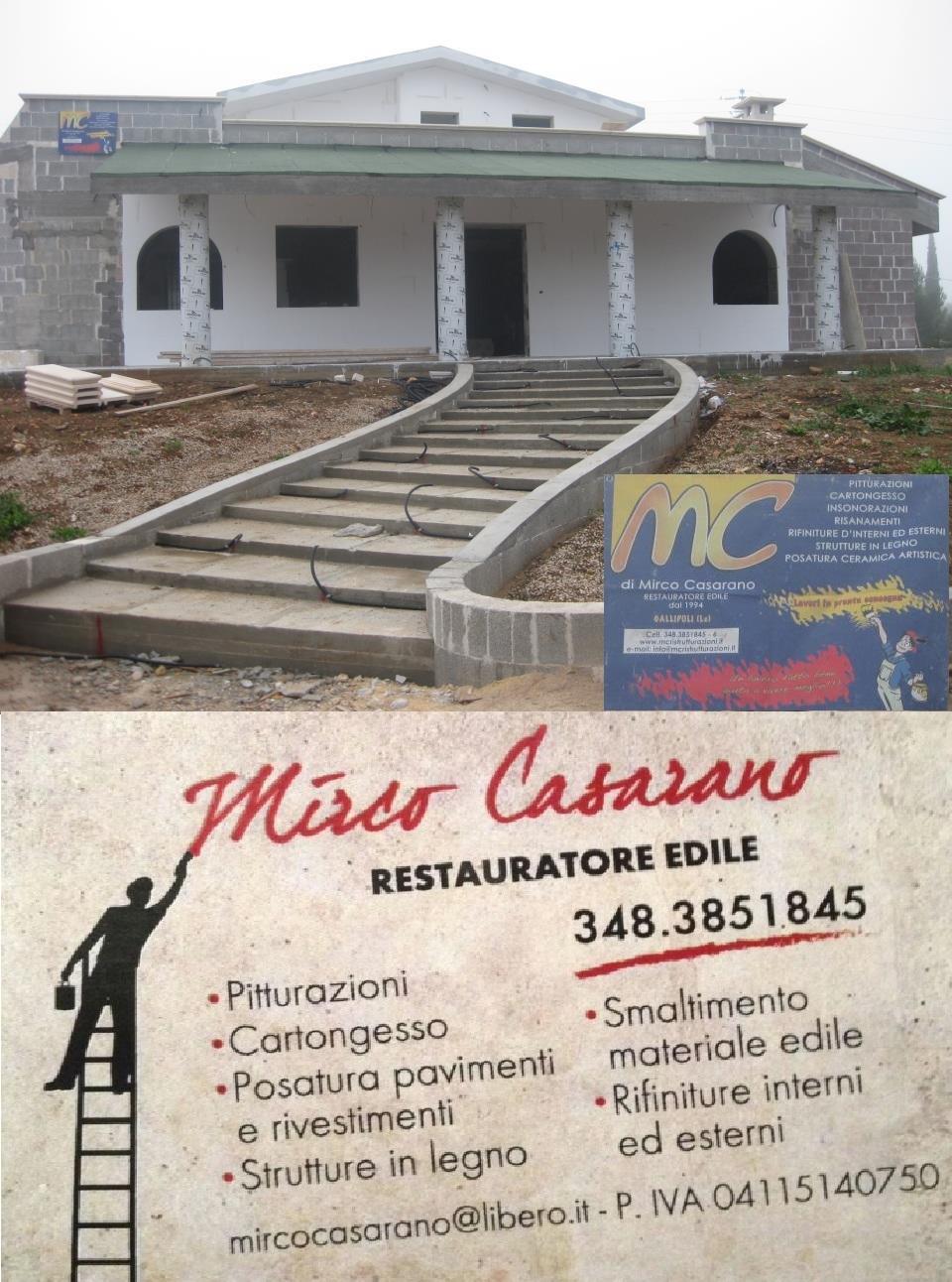 MC di Mirco Casarano - Impresa Edile