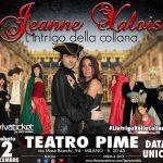 EVENTI: Jeanne Valois in scena Sabato a Milano