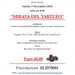 """EVENTI: """"Serata del tartufo"""" in Vineria San Giovanni"""