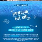 """EVENTI: il mare a Milano con """"Immergiti nel blu"""""""
